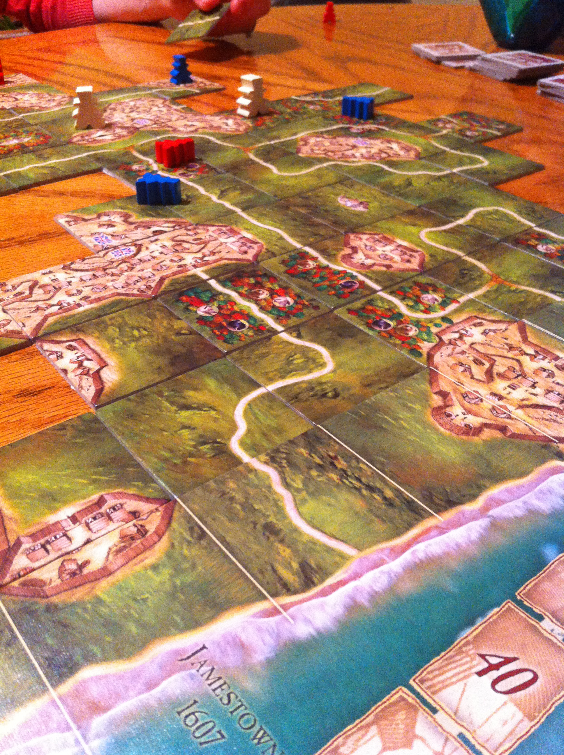 Carcassonne A New World
