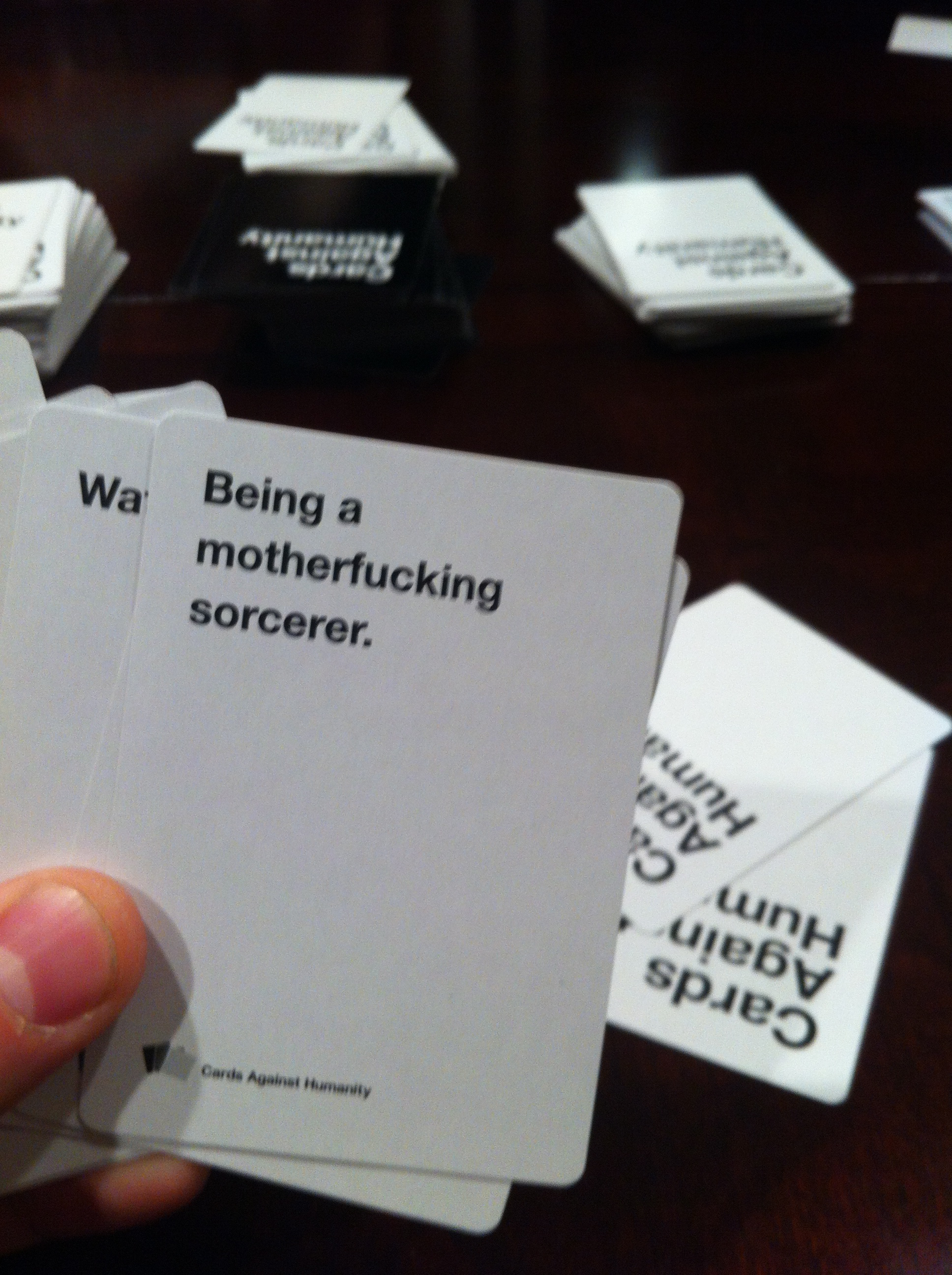 Cards Against Humanity - Being a motherfucking sorcerer