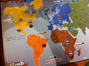 Risk: Legacy Game Board
