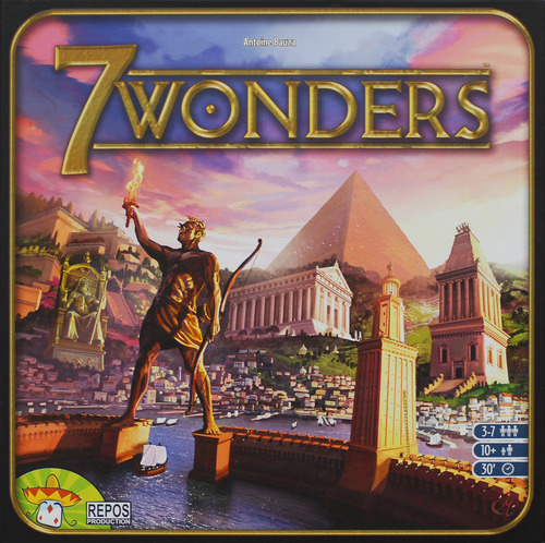 7 Wonders Review | Board Game Quest image