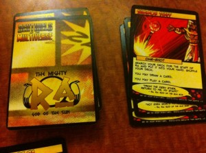 Sentinels of the Multiverse Hero Cards