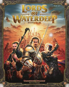Lords of Waterdeep Box Cover