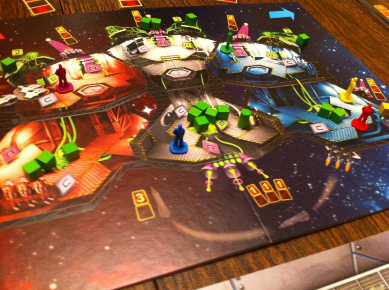 Space Alert Game Board