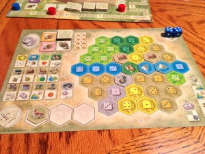 The Castle of Burgundy Player Mat