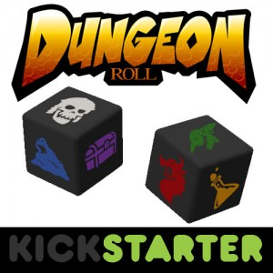 Dungeon Roll on Kickstarter