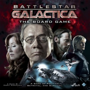 Battlestar Galactica Box Cover