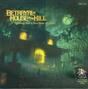 Betrayal At The House On The Hill Box Cover