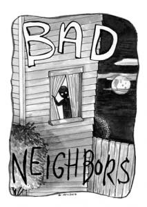 Bad Neighbors Card Game