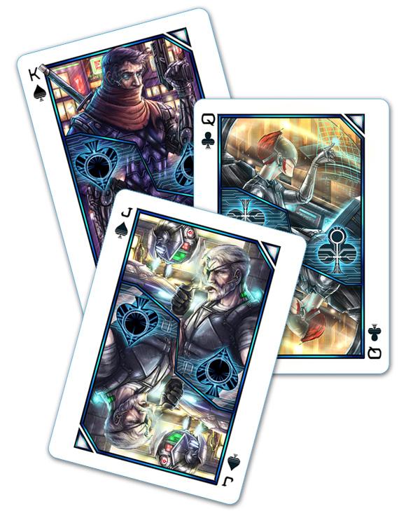 Cyberpunk Playing Cards