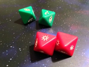 Star Wars: X-Wing Miniatures Game Dice