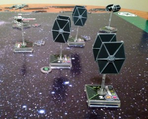 Star Wars: X-Wing Miniatures Components