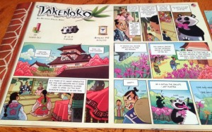Takenoko Game Components