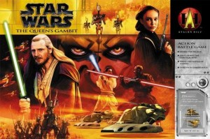 Star Wars: The Queen's Gambit Box Cover