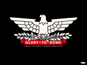 Glory To Rome Box Cover