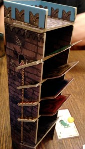 Dungeon Fighter Card Tower