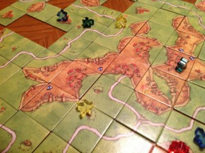 Carcassonne Game Experince