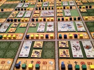 Canterbury Game Board