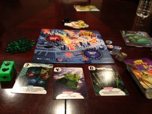 King of Tokyo How To Play