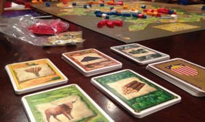 Settlers of America Resource Cards