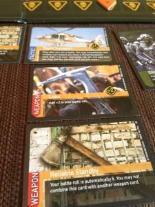 World War Z Combat Cards