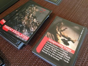 World War Z Threat Cards