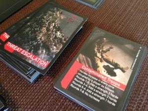 World War Z Threat Cards