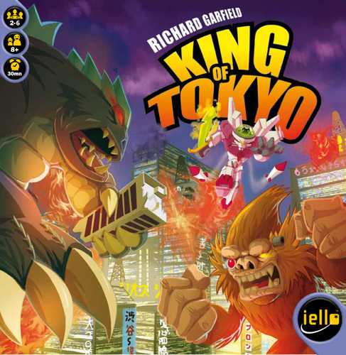 King of Tokyo Review | Board Game Quest image