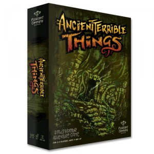 Ancient Terrible Things Kickstarter Box