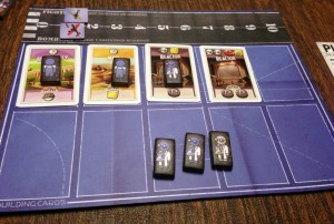 The Manhattan Project Player Board