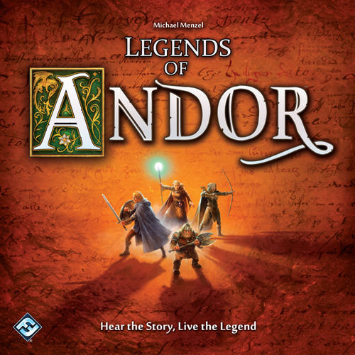 Legends of Andor Box Cover