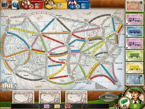 Ticket to Ride iPad Game overview