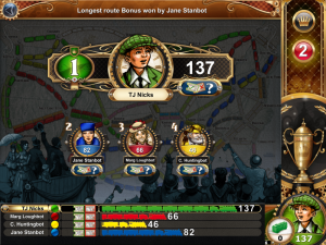 Ticket to Ride iOS Opponents