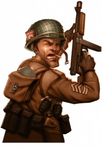Heroes of Normandie - Hero US Clint