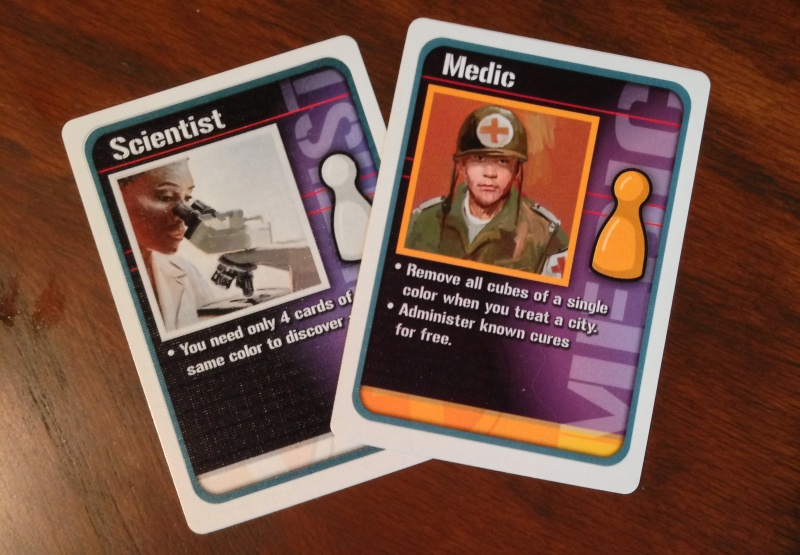 Pandemic 2 Player Roles
