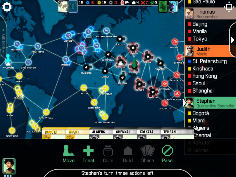 Pandemic for iPad