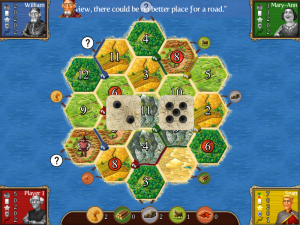 Catan iPad Dice