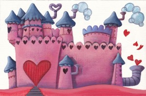Steam Park - Original artwork - The Love Castle