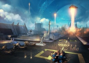 Titanium Wars - Buildings - Spaceport