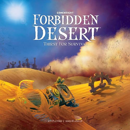 Forbidden Desert Review | Board Game Quest image