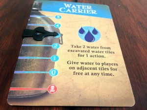 Forbidden Desert Player Card