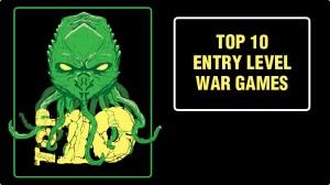 Top Ten Beginner War Games