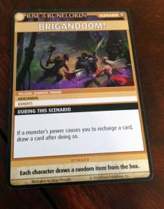 Pathfinder Scenario Card
