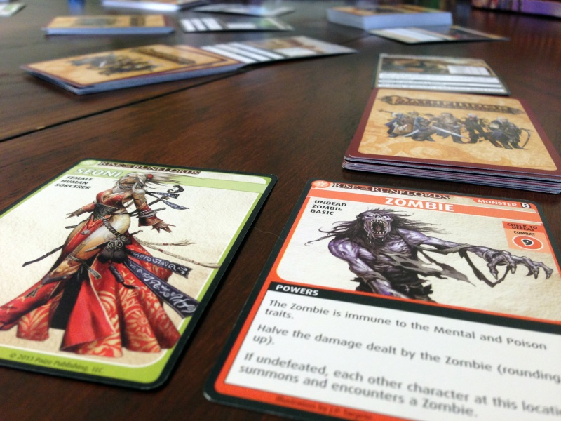 Pathfinder Card Game Game Experience