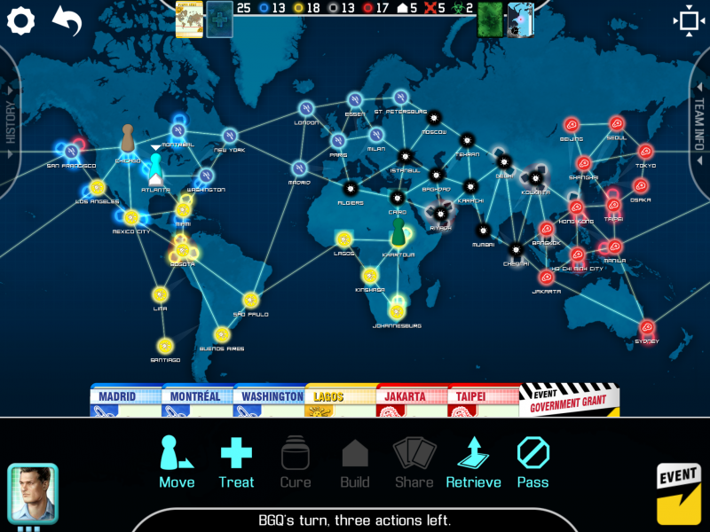 Pandemic Game Impressions