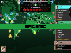 Pandemic Epidemic Screen