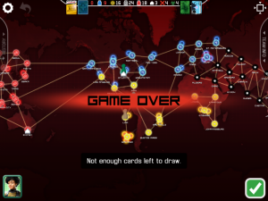 Pandemic Game Over