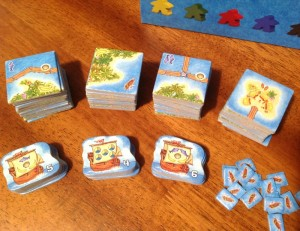 Carcassone: South Seas Tiles