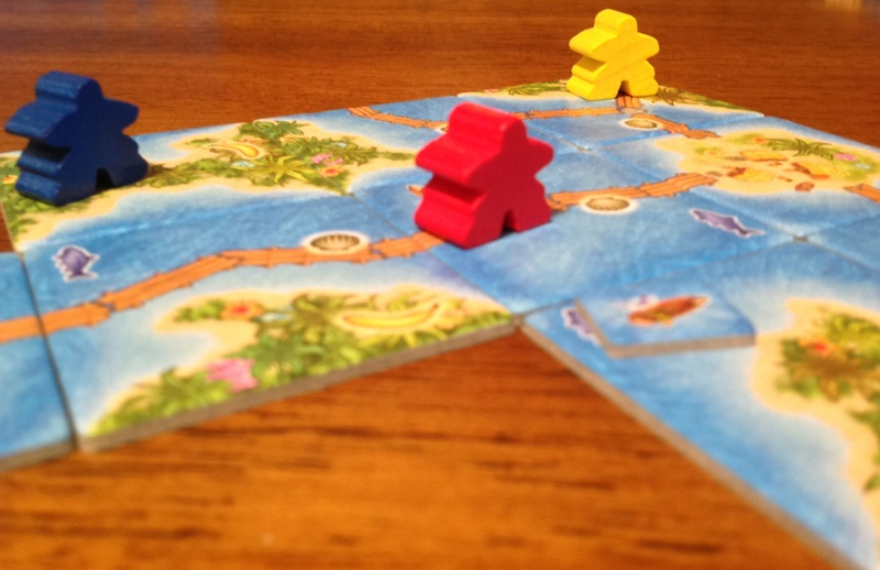 Carcassone: South Seas Game Experience