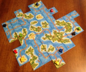 Carcassone: South Seas Game Board