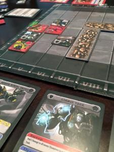 Titans Tactics Game Board